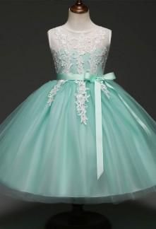 Robe de mariage bi-color finition guipure réf: EFC346