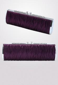 Déstockage - sac à main satin sac de soirée assorti avec robe de soirée B26-6