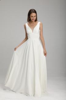 robe de mariée chic longue