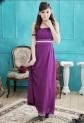 Déstockage - cathie - baby doll robe de soirée longue élégance réf 2229