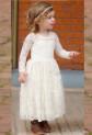 Robe enfant bohème manches longues Réf EF3352