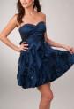 Erin - robe de soirée dégradé de tissus - sur demande réf 5819
