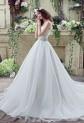 Robe de mariée simple bustier cœur réf SQ263