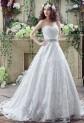 Elegante robe de mariée bustier effet princesse réf SQ269