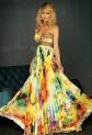 Laura - robe de soirée longue imprimée 9628 / 11106