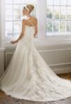 Robe de mariée florale