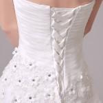 Robe de mariée réf 133 - détail laçage