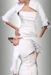 louane - boléro gilet pour robe de soirée cérémonie robe de mariage sur mesure 5910