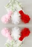 Bandeau bébé fille avec grosse fleur