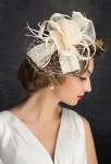 Peigne mariée ivoire rétro