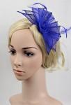 bibi bleu saphir pour décorer la coiffure