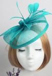 Bibi petit chapeau pour cérémonie - Emeraude