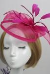 Bibi petit chapeau pour mariage- Fuchsia