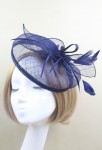 Bibi décoration de coiffure - Bleu nuit
