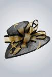 Chapeau de cérémonie sisal pour femme