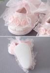 Petit chausson bébé pour mariage