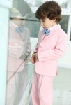 Costume enfant garçon rose pastel