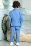 Costume garçon pour mariage en bleu pastel
