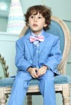 Costume garçon bleu pastel pour mariage