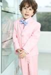 Costume garçon rose pastel pour mariage