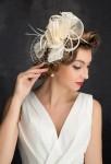 Coiffure mariée ivoire style rétro