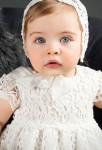 Robe bébé pour baptême