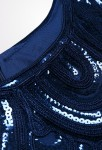 Robe sequins charleston