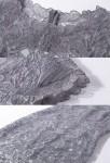 Robe courte en dentelle - Zoom