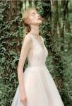 robe de mariée dentelle et tulle