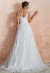 robe de mariée bohème chic tout en dentelle