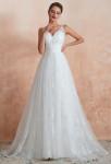 Robe de mariée bohème taille cintrée