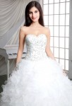 Robe de mariée romantique princesse