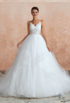 robe de mariée princesse tulle vaporeuse