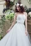 Robe de mariée simple bustier cœur - réf 30263