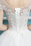 Robe de mariée princesse lacet
