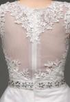 Robe de mariée romantique - zoom derri-re