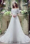 Robe de mariée épaules dénudées dentelle