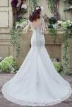 Robe de mariée sirène dentelle traîne