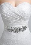 Robe de mariée en dentelle - zoom bustier