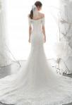 robe de mariée dentelle sirène manches