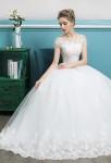 Robe de mariée épaules cachées