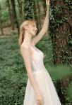 Robe de mariée bohème légère à bretelles