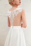 Robe de mariée dentelle dos transparent