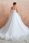 robe de mariée dentelle princesse jupe à volants