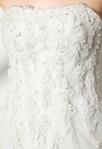 Robe de mariée princesse - bustier floral