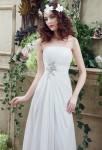 Robe de mariée mousseline coupe simple