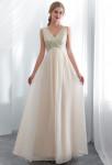 robe de soirée scintillante bretelles simple vaporeurse