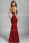 robe de soirée bustier trapèze