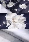 robe avec motif fleuri