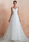 Robe de mariée bohème tout en dentelle